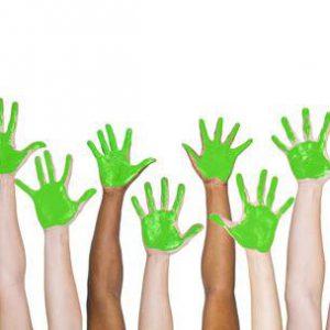 31298957-groen-geschilderde-handen-